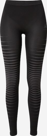 világosszürke / fekete ODLO Sport alsónadrágok 'Performance Light', Termék nézet