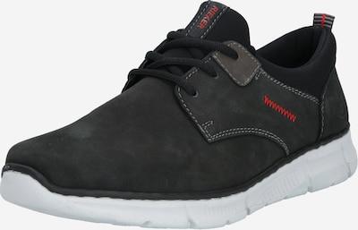 RIEKER Chaussure à lacets en noir, Vue avec produit