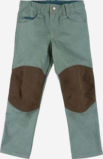 FINKID Pantalon 'KUUSI' en kaki / menthe, Vue avec produit