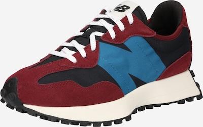new balance Sneakers laag '327' in de kleur Hemelsblauw / Wijnrood / Zwart, Productweergave