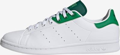 ADIDAS ORIGINALS Zemie brīvā laika apavi, krāsa - zaļš / balts, Preces skats