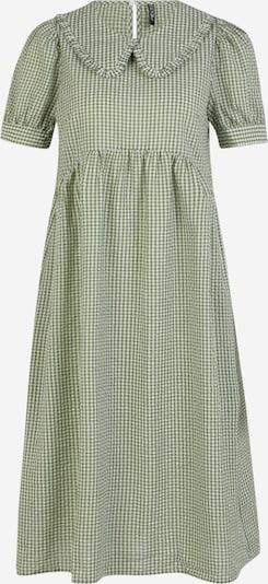 Pieces Petite Košilové šaty 'IDA' - trávově zelená / bílá, Produkt