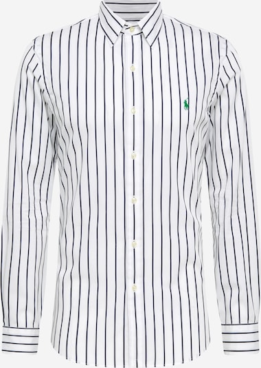 POLO RALPH LAUREN Overhemd in de kleur Navy / Lichtgroen / Wit, Productweergave