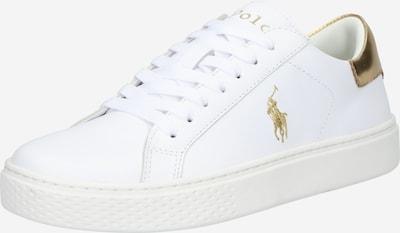 Polo Ralph Lauren Σνίκερ χαμηλό 'COURT 125 II' σε χρυσό / λευκό, Άποψη προϊόντος