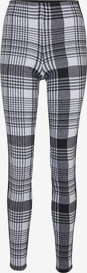 heine Pantalon en gris / noir, Vue avec produit