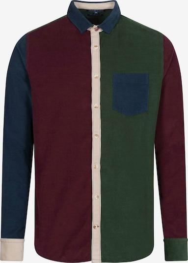 COLOURS & SONS Langarmhemd 'COLORBLOCK' in mischfarben, Produktansicht