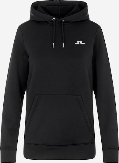 J.Lindeberg Sportief sweatshirt in de kleur Zwart / Wit, Productweergave