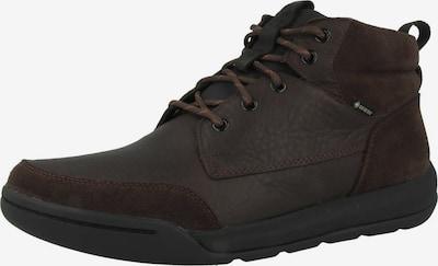 CLARKS Boots 'Ashcombe Hi GTX' in dunkelbraun, Produktansicht