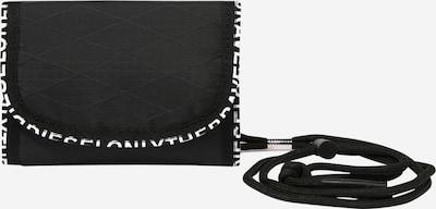 DIESEL Porte-monnaies 'YOSHINO' en noir / blanc, Vue avec produit