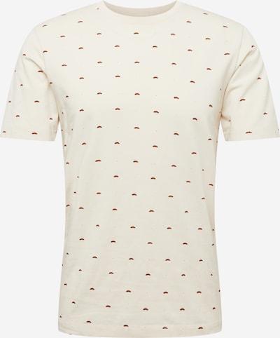 SCOTCH & SODA T-Shirt in beige / rot / schwarz, Produktansicht