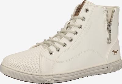MUSTANG Sneaker in naturweiß, Produktansicht