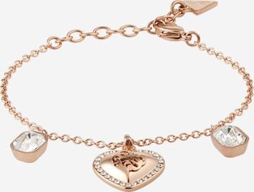GUESS Bracelet 'HEART' in Gold