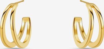 MOSUO JEWELLERY Ohrringe 'Camila' in Gold