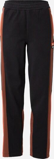 FILA Trousers 'Karolina' in Brown / Red / Black, Item view
