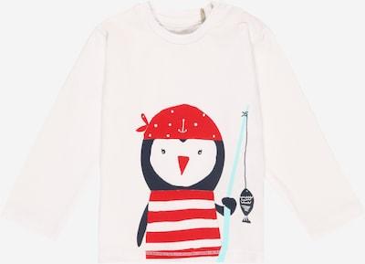 KANZ T-Shirt en bleu marine / turquoise / rouge / blanc, Vue avec produit