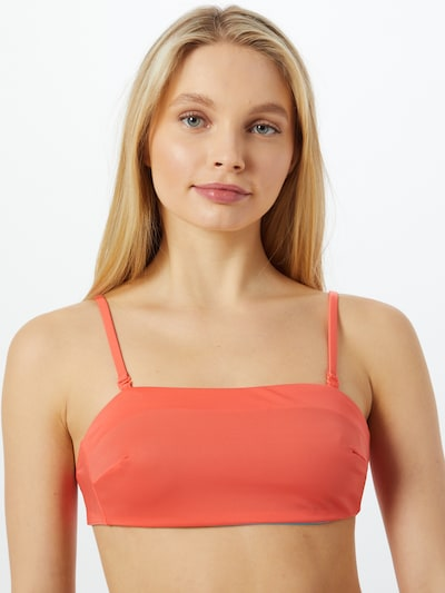 türkiz / narancs SLOGGI Bikini felső 'Shore Kosrae', Modell nézet