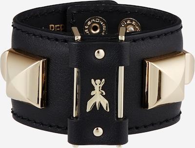 PATRIZIA PEPE Armband in gold / schwarz, Produktansicht