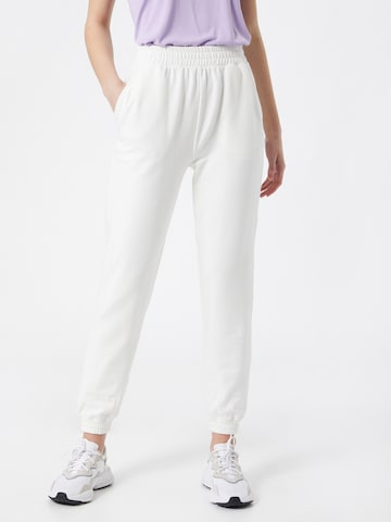 ABOUT YOU Trousers 'Naomi' in White