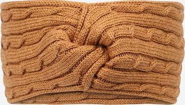 Guido Maria Kretschmer Collection Pannebånd 'Nina' i brun