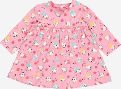 Guppy Kleid 'FAIRY' in limone / jade / hellpink / schwarz / weiß, Produktansicht