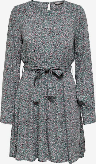 ONLY Kleid in smaragd / pastellgrün / rosa / pastellrot, Produktansicht