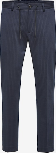 SELECTED HOMME Hose in navy / offwhite, Produktansicht