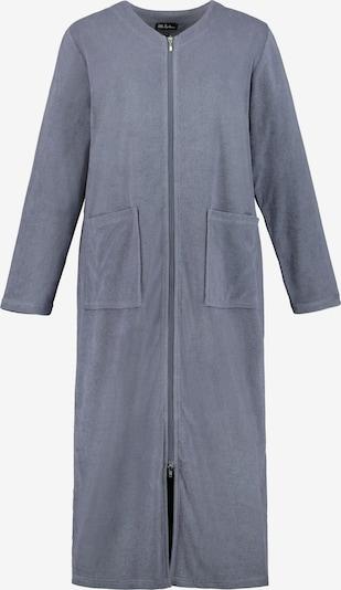 Halat de baie lung Ulla Popken pe albastru închis, Vizualizare produs