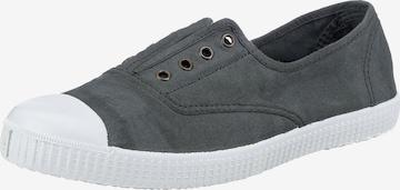 VICTORIA Slip-Ons in Grey