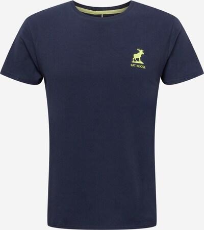 Fat Moose T-Krekls 'Brady', krāsa - tumši zils / gaiši zaļš, Preces skats