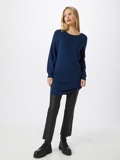 COMMA Kleid in dunkelblau, Modelansicht