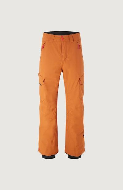 O'NEILL Pantalon outdoor 'Cargo' en cognac, Vue avec produit