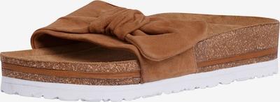 TAMARIS Pantolette in cognac, Produktansicht