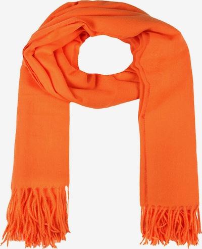 Zwillingsherz Schal in orange, Produktansicht