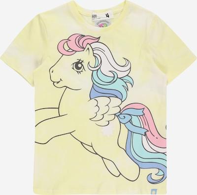 Cotton On Тениска 'LICENSE' в синьо / тюркоазен / светложълто / розово / черно, Преглед на продукта