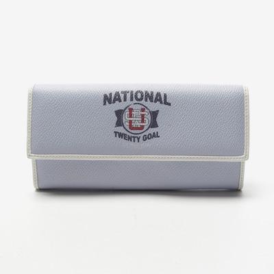 U.S. POLO ASSN. Geldbörse in One Size in hellblau / weiß, Produktansicht