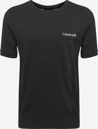 Calvin Klein Koszulka w kolorze czarnym: Widok z przodu