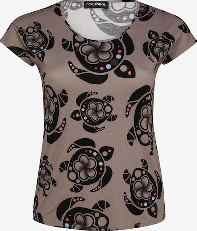Doris Streich Shirt in beige / schwarz, Produktansicht