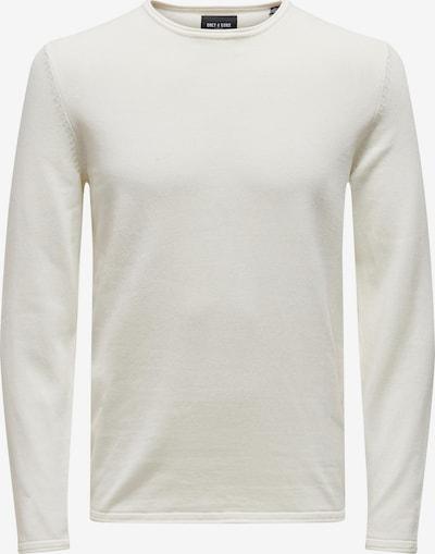 Only & Sons Pullover 'GARSON' in naturweiß, Produktansicht