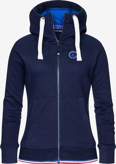 CODE-ZERO Kapuzensweatjacke 'St Barth Zip Sweater' Damen in blau / marine / navy / dunkelblau, Produktansicht
