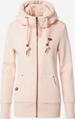 Hanorac 'NESKA' de la Ragwear pe roz