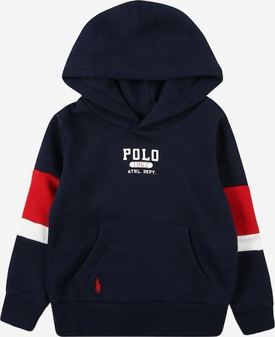Polo Ralph Lauren Sweater majica u mornarsko plava / crvena / bijela, Pregled proizvoda