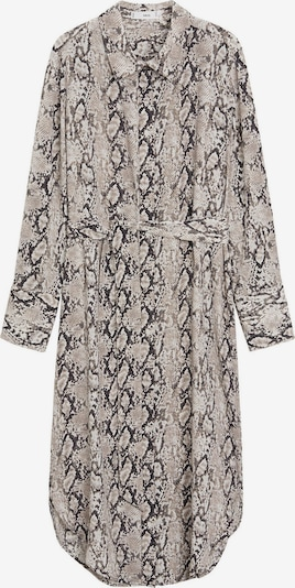 MANGO Kleid in grau / anthrazit, Produktansicht
