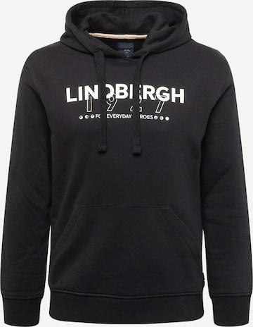 Lindbergh Μπλούζα φούτερ σε μαύρο