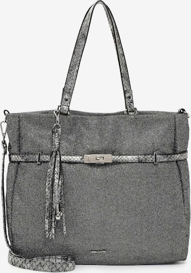 TAMARIS Shopper ' Debby ' in de kleur Zilvergrijs / Lichtgrijs / Donkergrijs, Productweergave