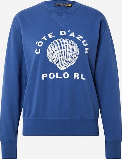 POLO RALPH LAUREN Sweatshirt in royalblau / weiß, Produktansicht