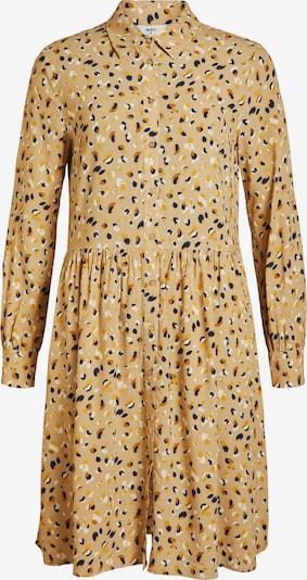 OBJECT Kleid in braun / hellbraun / schwarz / weiß, Produktansicht