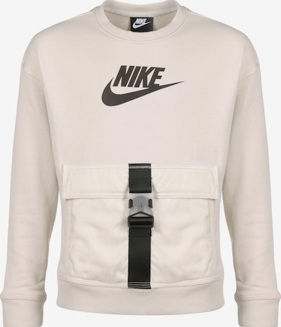 Nike Sportswear Sweat en beige / noir, Vue avec produit