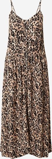 Freequent Kleid in beige / braun / schwarz, Produktansicht