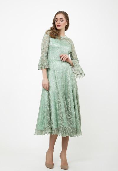 Madam-T Kleid 'Julieta' in jade, Modelansicht