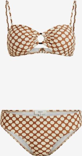 OBJECT Bikini 'Colette' in creme / karamell, Produktansicht